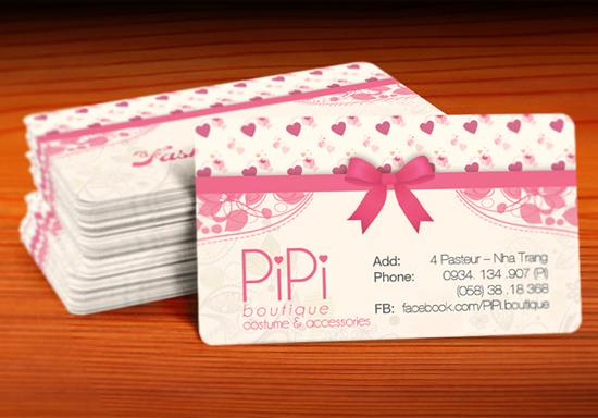 Các mẫu card visit đẹp giá rẻ - NHÓM IN5