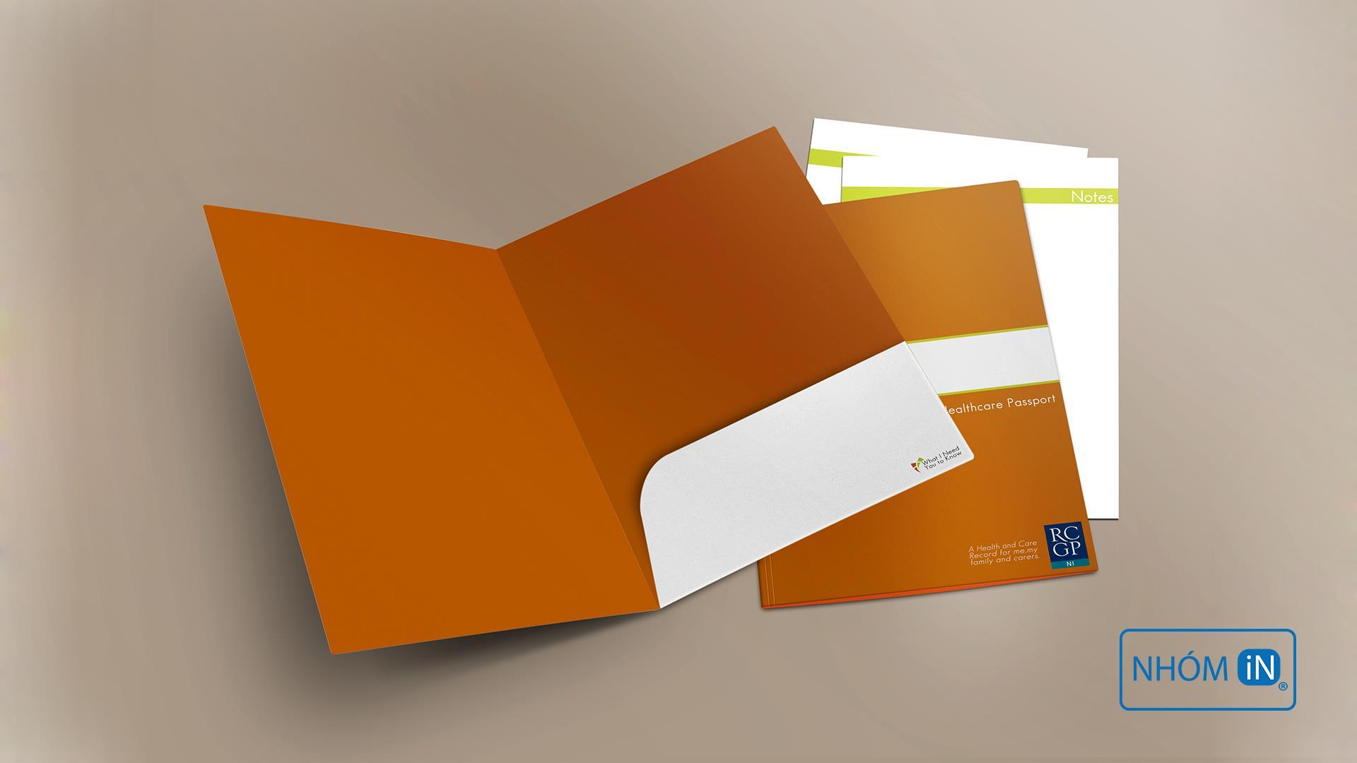 NHÓM IN chuyên thiết kế kẹp file mang phong cách hiện đại, năng động phù hợp yêu cầu thời đại mới