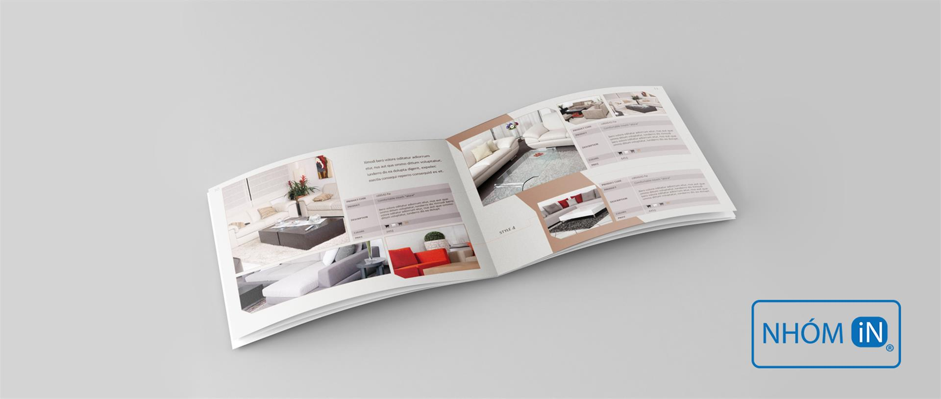 NHÓM IN - Thiết kế in ấn catalogue chuyên nghiệp