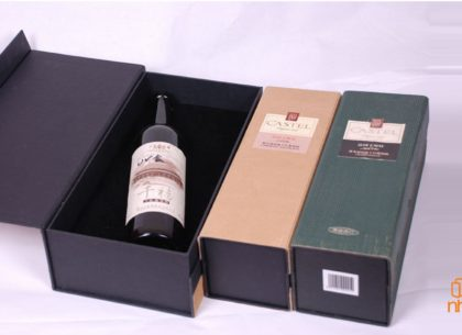 Chuyên nhận in hộp rượu bằng giấy cứng cao cấp