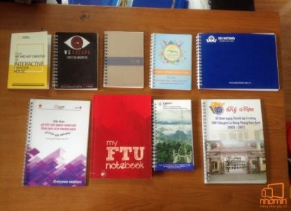 Làm sổ tay quà tặng tại Hà Nội