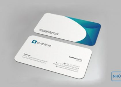 Xu hướng in card visit tại Nhóm In năm 2018