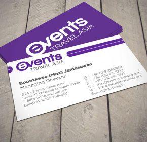Mẫu business card hiện đại