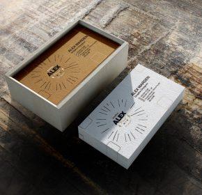 Mẫu hộp giấy quà tặng cao cấp