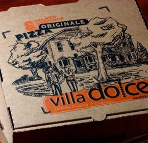 Mẫu hộp giấy pizza tiện dụng