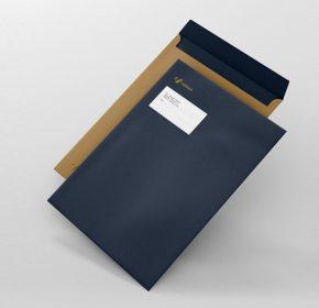 Mẫu phong bì giấy A4 Kraft sang trọng