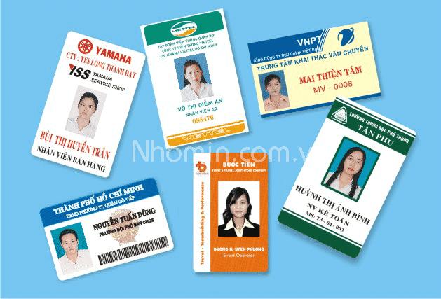 In thẻ nhân viên chất lượng tại Nhóm In