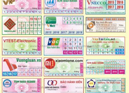 Định nghĩa và đặc điểm chung của tem bảo hành và tem vỡ