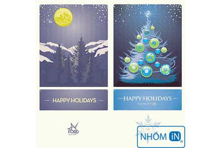 Nhắn gửi yêu thương qua thiệp chúc mừng giáng sinh và năm mới 1