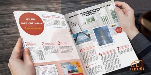 dịch vụ in ấn catalogue trọn gói