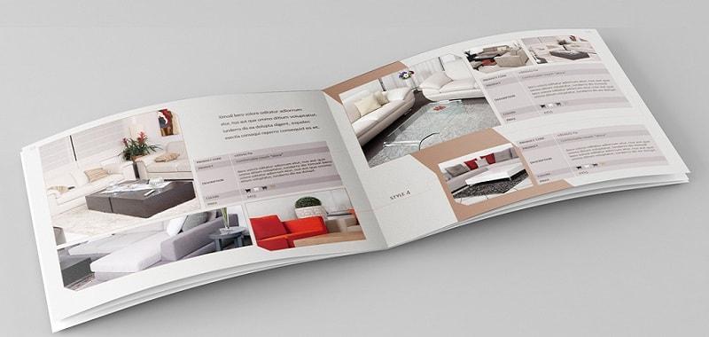 in ấn catalog