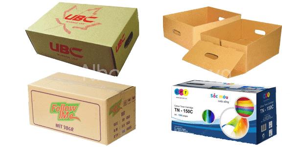 In thùng carton chất lượng tốt nhất tại Nhóm In