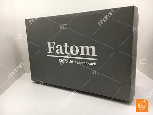 hộp carton sóng ép kim bạc