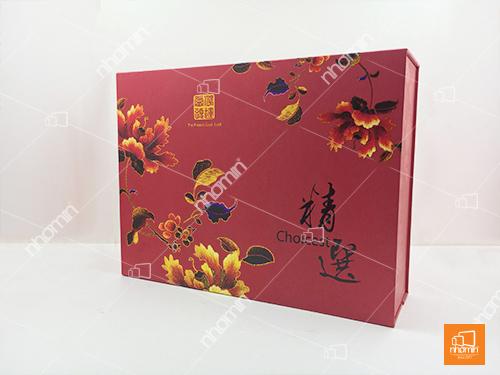 hộp bánh trung thu in 4 màu