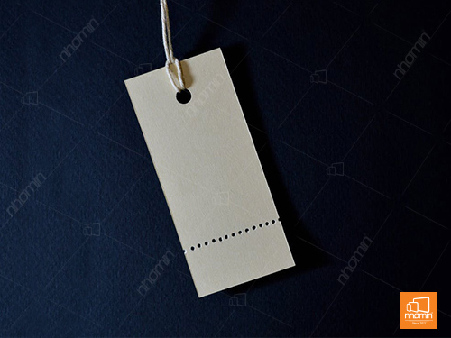tag giấy xén vuông đục lỗ