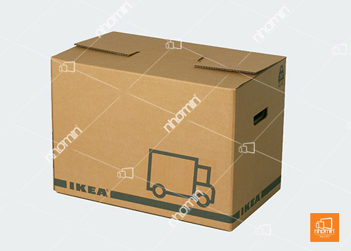 thùng carton in 01 màu