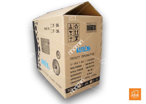 thùng carton in 02 màu