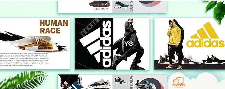 catalogue thời trang adidas