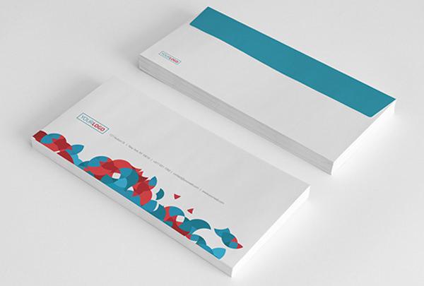 mẫu phong bì giấy couches thiết kế đẹp