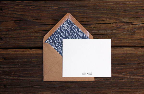 mẫu phong bì giấy kraft