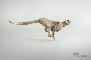 poster cho vay tài chính của 1clickge