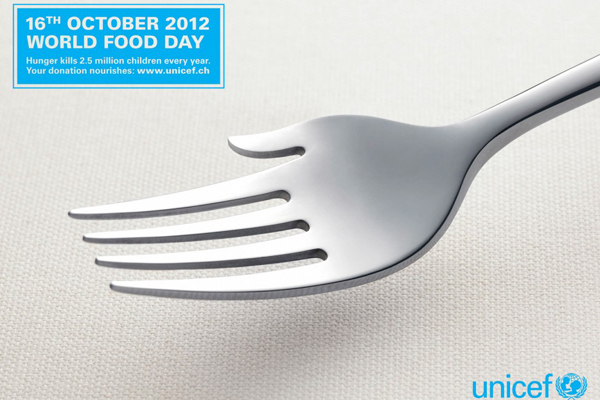 poster quảng cáo của unicef