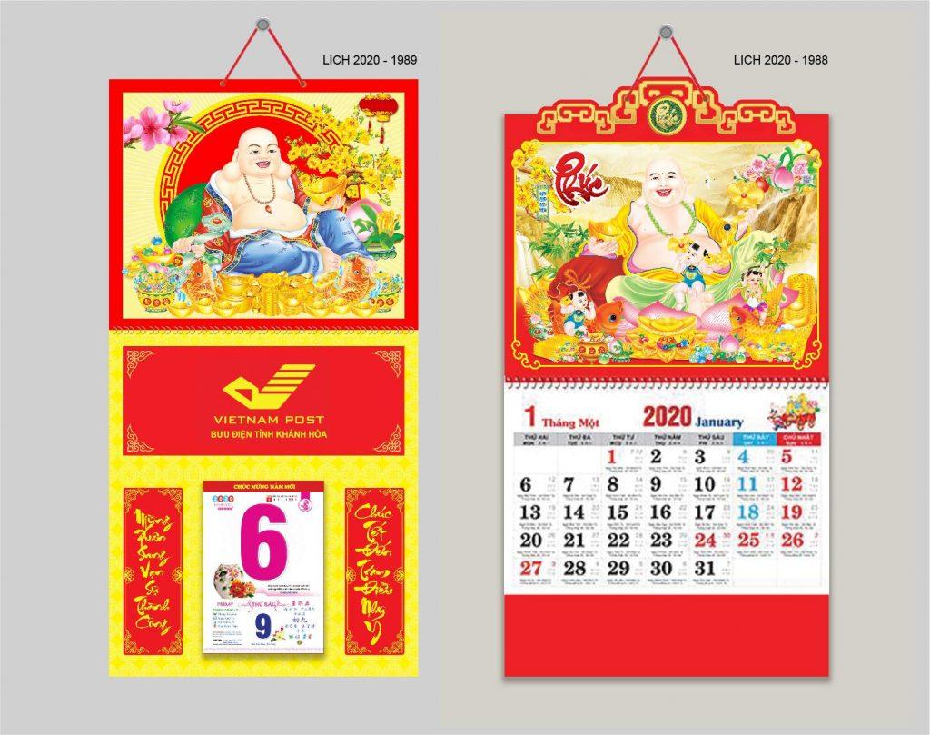 Mẫu lịch Bloc Nhóm In Gleap 2020 - 05