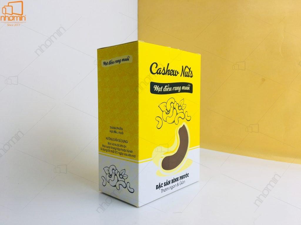 Hộp giấy Hạt điều rang muối Cashew Nuts