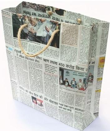 Túi báo handmade