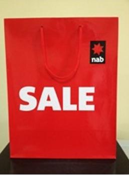 Túi giấy quảng cáo giảm giá