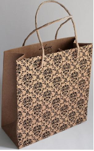 Túi giấy thiết kế để mua sắm