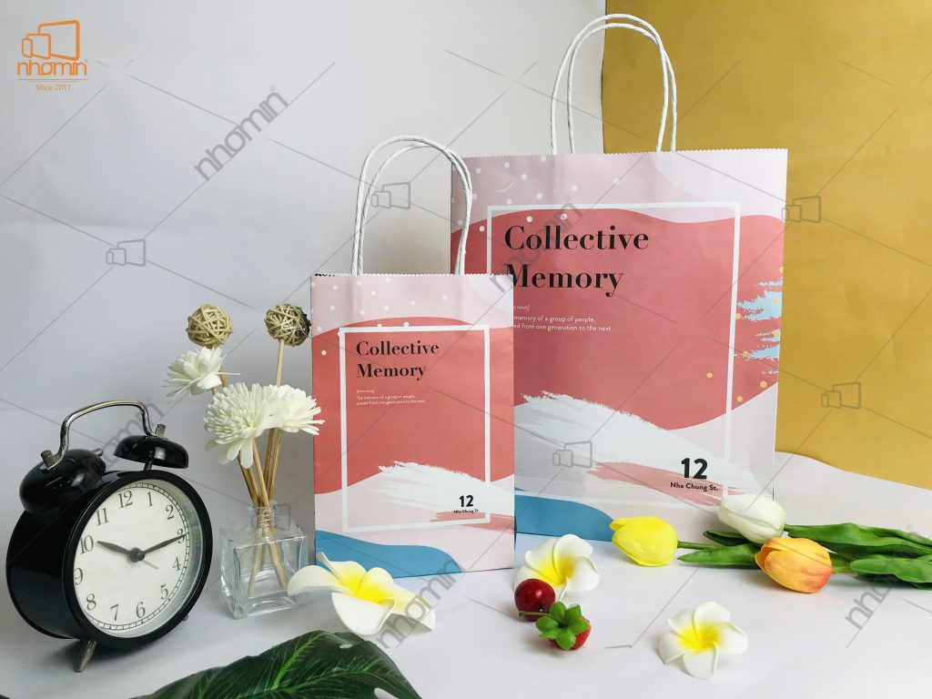 Thiết kế và in ấn bao bì bộ túi giấy