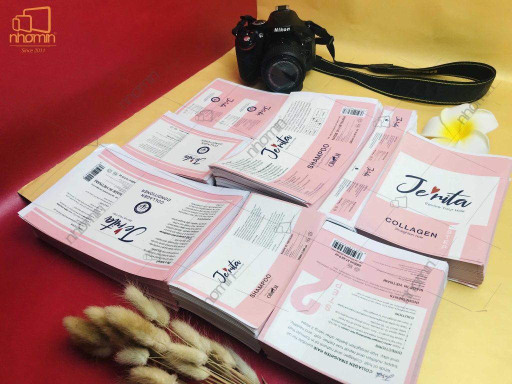 Thiết kế và in ấn tem Jerita