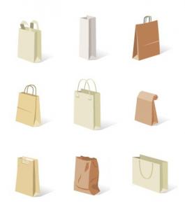 các loại túi giấy thủ công