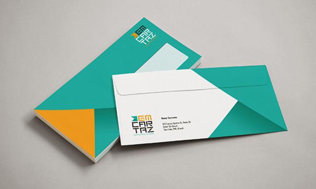 mẫu phong bì thư 5