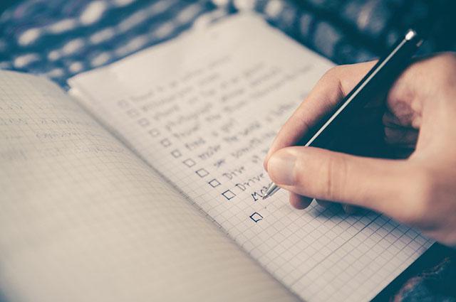 Phương pháp để duy trì việc ghi sổ tay