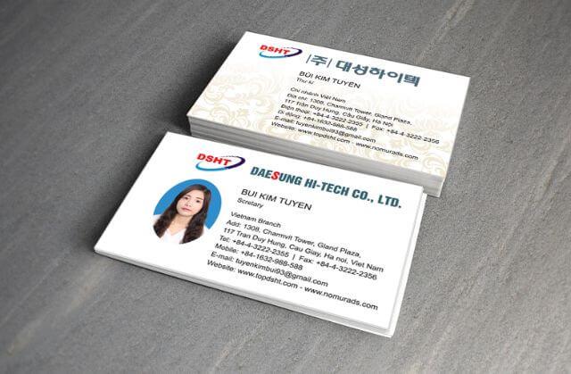 Hướng dẫn thiết kế card visit bằng corel 2