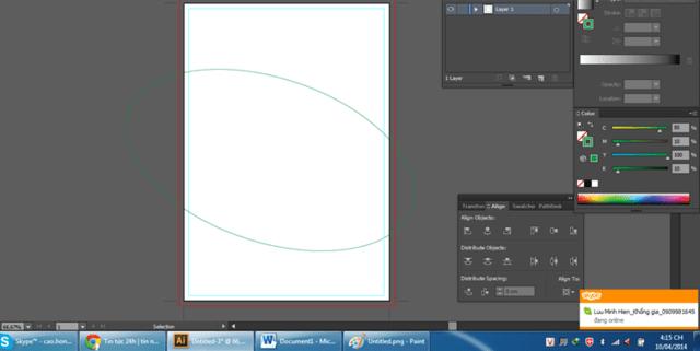 Hướng dẫn thiết kế tờ rơi bằng illustrator