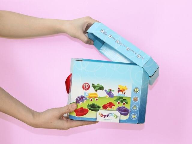 Mẫu hộp giấy đồ chơi