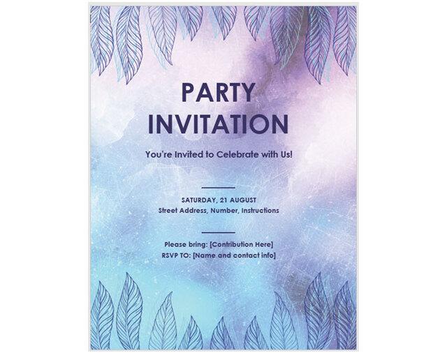 mẫu thiệp mời sự kiện 3
