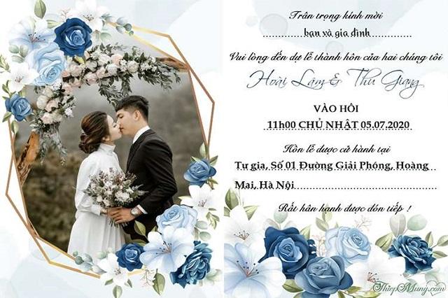 Thiệp cưới 33
