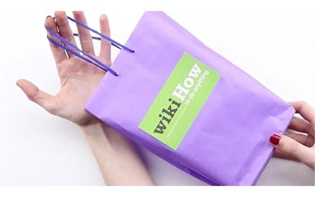 Cách làm quai túi giấy