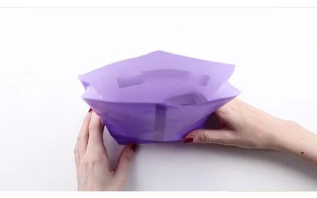 Cách làm túi giấy bước 7