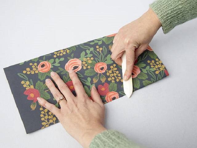 cách làm hộp giấy đựng đồ 1