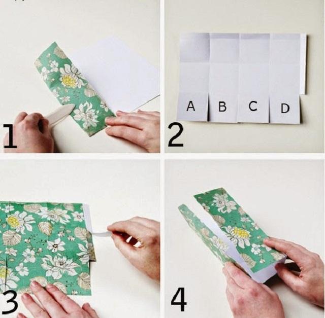 Cách làm hộp giấy đựng quà 2