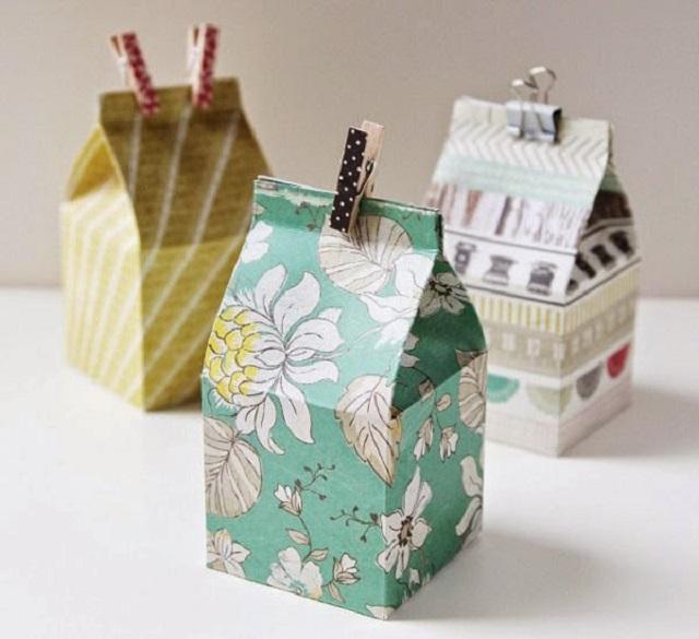 Cách làm hộp giấy đựng quà 4