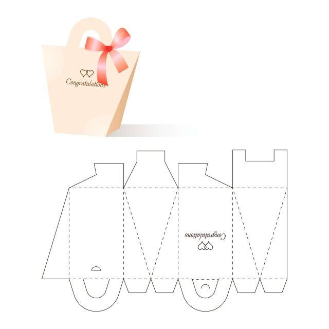 Mẫu thiết kế hộp giấy 001