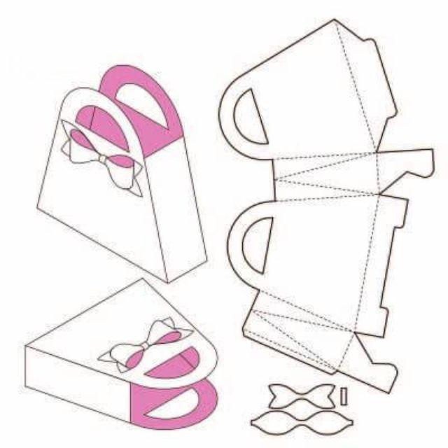 Mẫu thiết kế hộp giấy 005