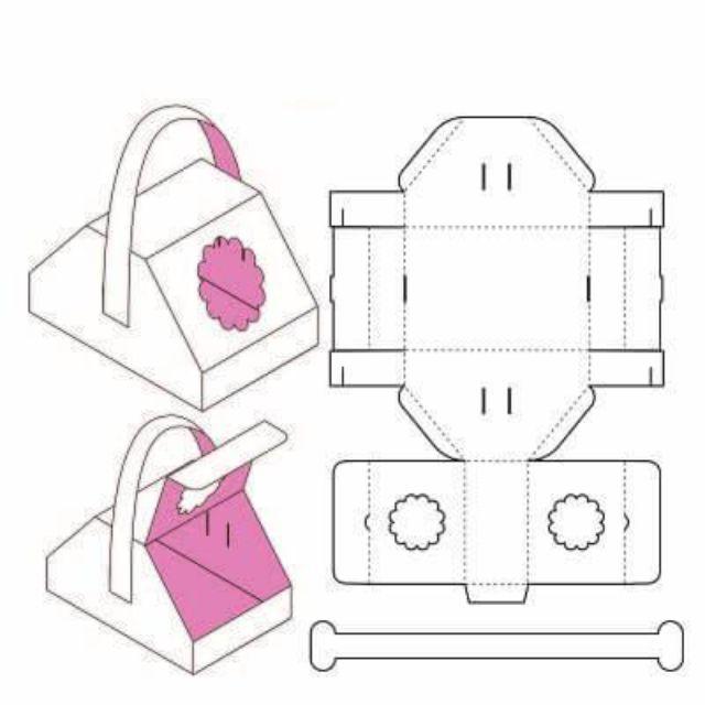 Mẫu thiết kế hộp giấy 006