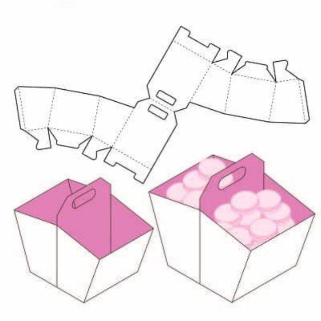 Mẫu thiết kế hộp giấy 007